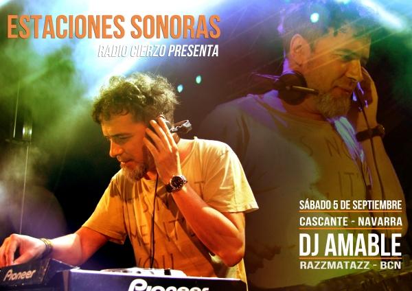 Estaciones Sonoras - Amable - Sala Razzmatazz